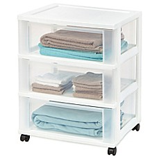 Image Of Iris 3 Drawer Storage Cart