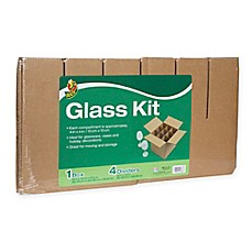 image of Duck® Glass Kit, 4 Dividers & 1 12 in. x 12 in. Box