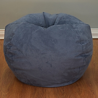 Image Of Large Microsuede Bean Bag Chair
