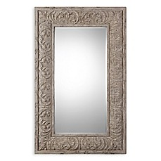 Image Of Uttermost 47.75 Inch X 75.5 Inch Vazzano Oversized Mirror In Ivory/
