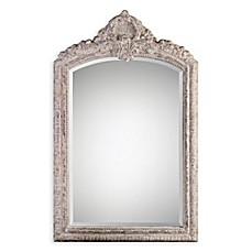 image of Uttermost 35.88-Inch x 57.88-Inch Charente Mirror in Ivory