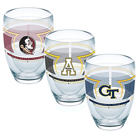 Tervis collegiate 9 oz stemless wine glass reserve wrap bed bath beyond - Insulated stemless wine glasses ...