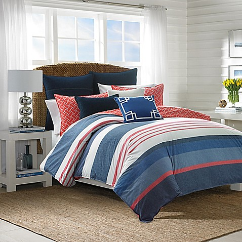 navy and coral bedroom 174 hawes comforter set in navy coral bed bath amp beyond 16495