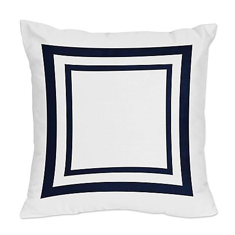 Sweet Jojo Designs Anchors Away Throw Pillows (Set of 2) - Bed Bath & Beyond