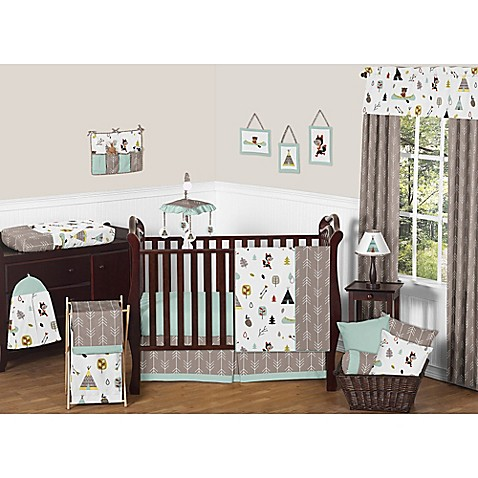 Sweet Jojo Designs Outdoor Adventure Crib Bedding