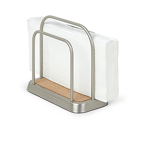 Umbra vine napkin holder in metallic bed bath beyond for Bathroom napkin holder