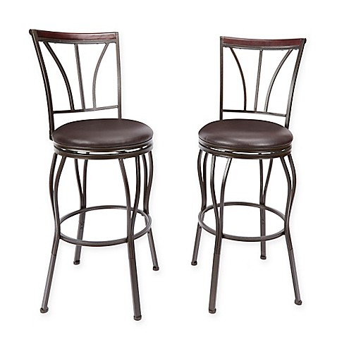 Ashton Bar Stool In Bronze Set Of 2 Bed Bath Amp Beyond