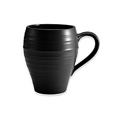 image of Mikasa® Swirl Mug in Black