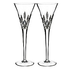 image of Waterford® Lismore Pops Toasting Flutes (Set of 2)
