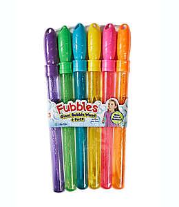 Varitas de burbujas Fubbles® de 118 mL, Paquete de 6 pzas.