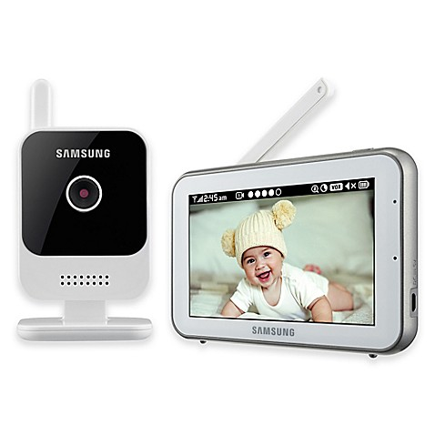 Samsung RealView Video Baby Monitor with 5-Inch in White - buybuy BABY