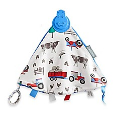 image of Cheeky Chompers® Comfortchew® Farmer Joules Teething Comforter in Blue