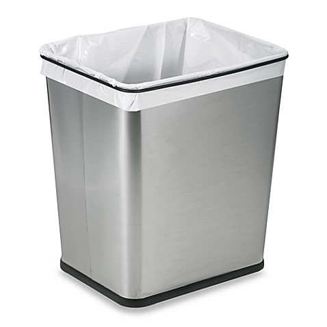 Polder® Under-The-Counter 7-Gallon Recycle/Trash Can