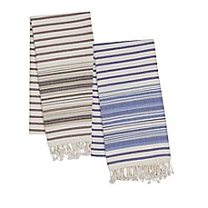 image of Striped Fouta Beach Towel