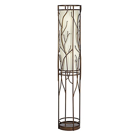 Pacific Coastu0026reg; Lighting Whispering Willows Uplight Floor Lamp In Bronze