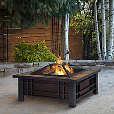 image of Real Flame® Morrison Fire Pit in Black