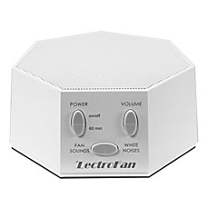 image of LectroFan Sound Therapy Machine in White