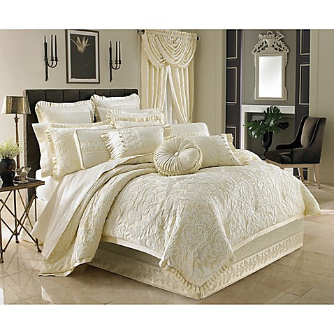 J Queen New York Marquis Queen Comforter Set Bed Bath