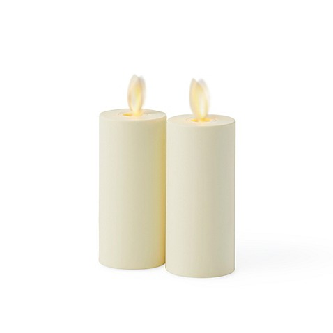 Luminara® Flameless Votive Candles in Ivory(Set of 2)