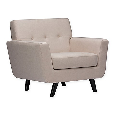 Baxton studio damien arm chair bed bath beyond for Baxton studio chair design