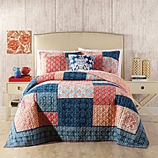 image of Jessica Simpson Grace Quilt in Blue