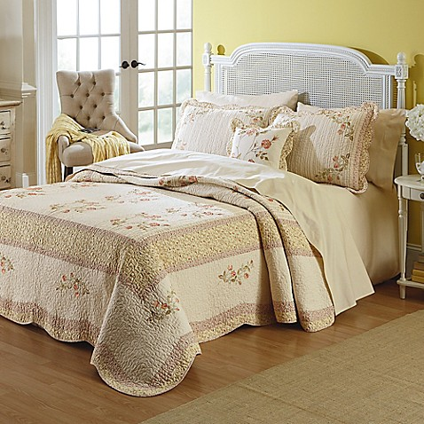Mary Jane S Home Morning Rose Bedspread Bed Bath Amp Beyond