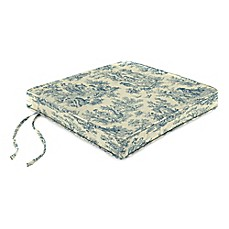 image of Charmed Life Boxed Edge Seat Cushion