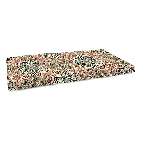 Buy Tufted Bench Cushion In Red From Bed Bath Beyond
