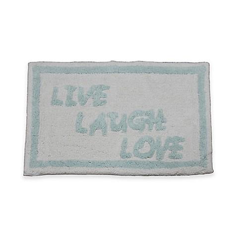 Quot Live Laugh Love Quot Bath Rug Bed Bath Amp Beyond
