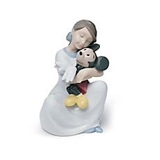image of Nao® I Love You Mickey Figurine