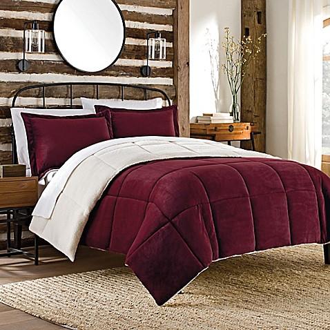 So-Soft™ Plush Reversible Mini Comforter Set - Bed Bath ...