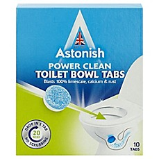 image of Astonish® 10-Pack Toilet Bowl Cleaner Tabs