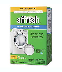 Pastillas Affresh® limpiadoras para lavadora, 6 pzas.