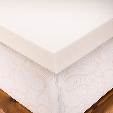 Viscofresh 4 inch memory foam mattress topper bed bath beyond 4 memory foam mattress topper