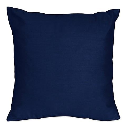 Sweet Jojo Designs Navy and Grey Stripe Throw Pillow in Navy (Set of 2) from Buy Buy Baby