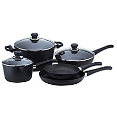 image of Scanpan 8-Piece Nonstick Classic Cookware Set