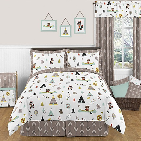 Sweet Jojo Outdoor Adventure Bedding Collection Bed Bath
