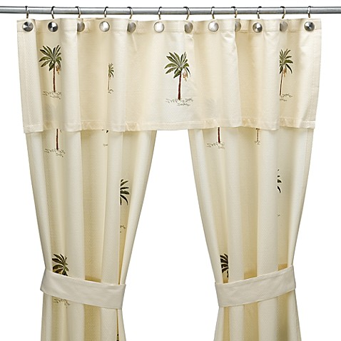 Croscill® Port of Call Double Swag Shower Curtain Set