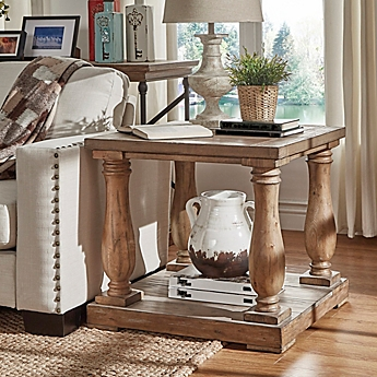 Accent & End Tables, Glass, Metal & Wood End Tables - Bed Bath ...
