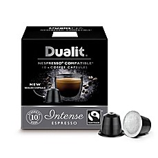 image of Dualit® 60-Count NX Intenso Espresso Nespresso® Compatible Coffee Capsules