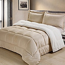 image of Sherpa Down Alternative Comforter Set