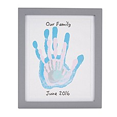 image of Pearhead Handprint Frame in Grey