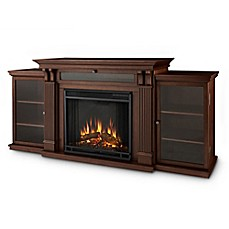 image of Real Flame® Calie 67-Inch Freestanding Media Console Electric Fireplace