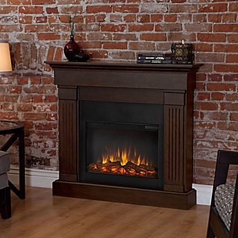 Image Of Real Flame® Crawford Slim Electric Fireplace