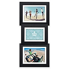 image of malden 3 opening collage picture frame in black