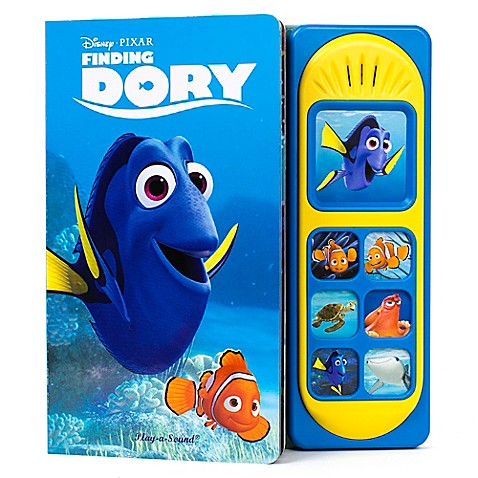 Quot Finding Dory Quot Little Sound Book By Buybuy Baby