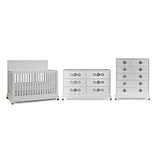 image of jonathan adler crafted by fisherprice nursery furniture collection in white