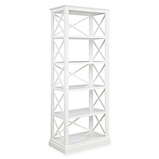 image of Donny Osmond Home Johansson Bookcase in White