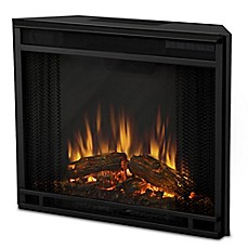image of Real Flame® VividFlame Electric Firebox Insert in Black