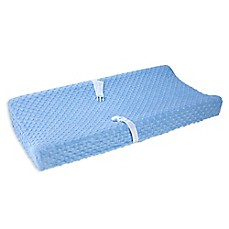 image of carter's Velboa Bubble Dot Changing Pad Cover
